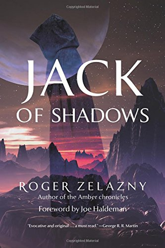 The cover of the book 'Jack of Shadows' by Roger Zelazny