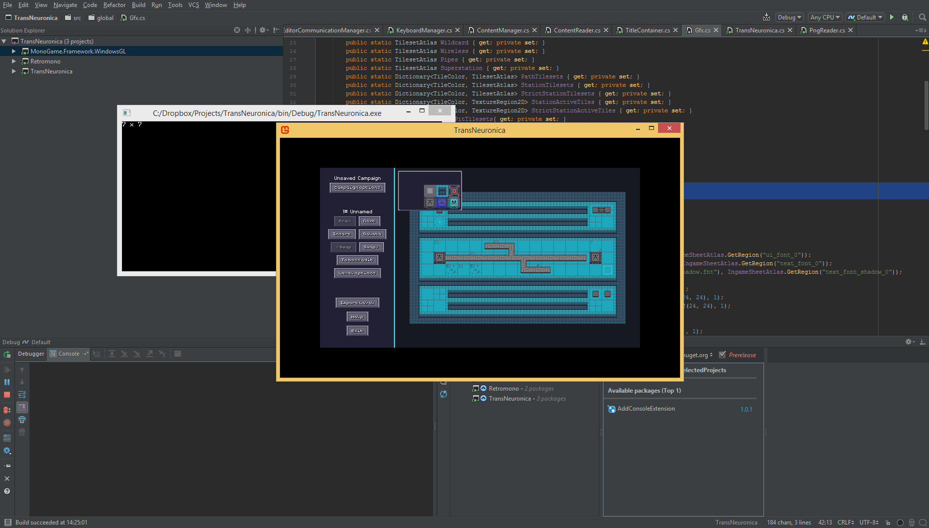 Updating MonoGame from 3 5 (NuGet) to 3 6 (source