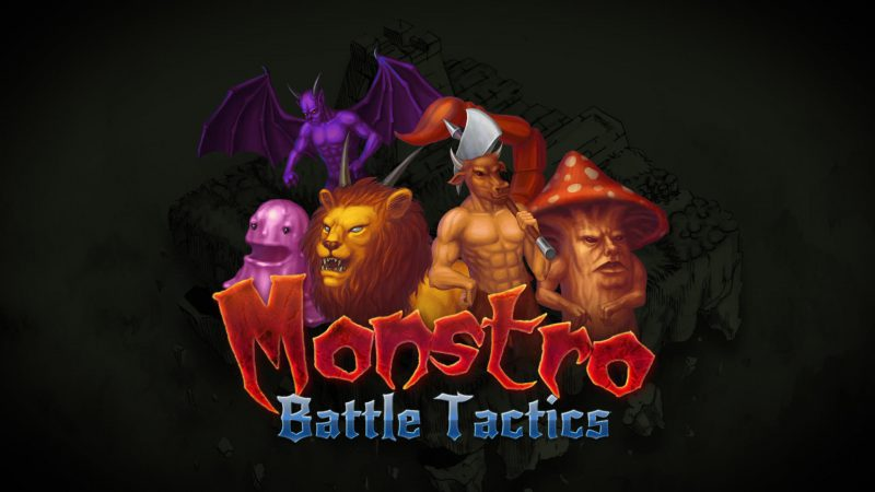 Monstro: Battle Tactics, social banner
