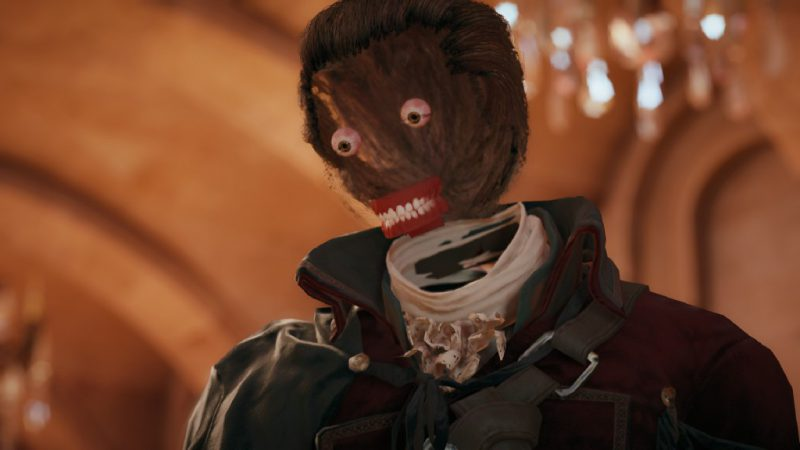 Assassin's Creed Unity bug with missing textures