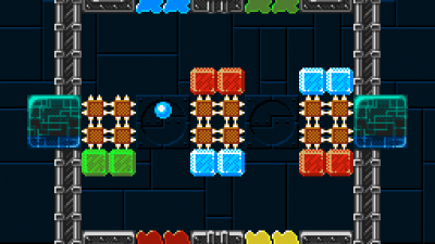 Kulkis screenshot of level 16