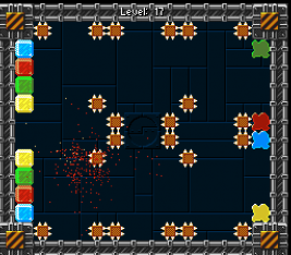Kulkis screenshot of level 17