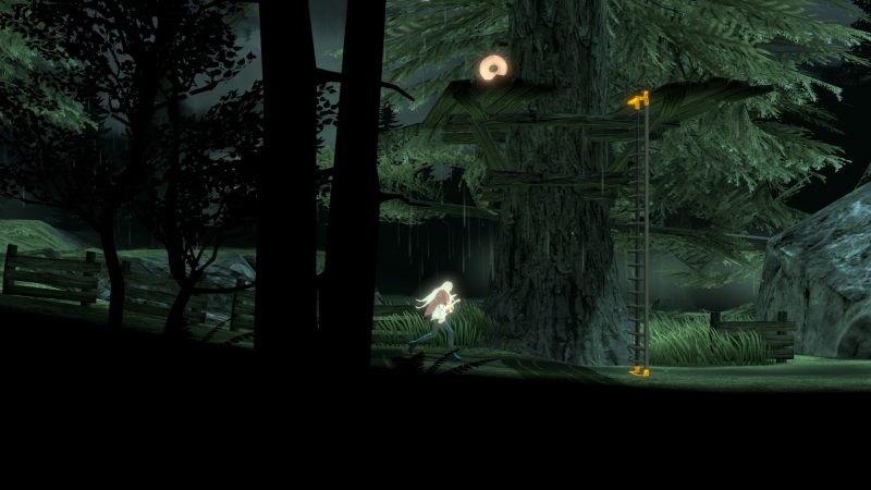 The MISSING Screenshot - J.J. Running through the forest